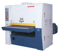 Planing, grinding and calibrating machines